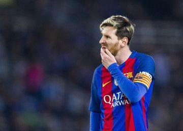 La brújula es Messi