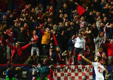 Sanción al Sevilla por los cánticos contra los jugadores del Real Madrid