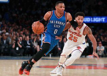 Westbrook llama a la puerta de los mitos de la NBA