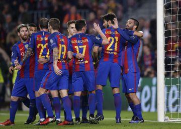 El Barça, otro récord en la Champions