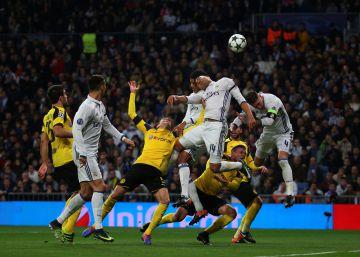 El Madrid empata ante el Dortmund y se clasifica para octavos como segundo