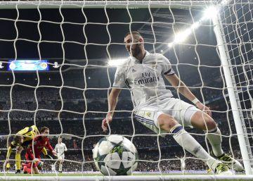 El Madrid empata con el Dortmund en un duelo sin tregua
