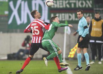 El Athletic empata ante el Rapid de Viena y espera