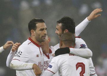 Un Sevilla de hierro ansía crecer en la Champions