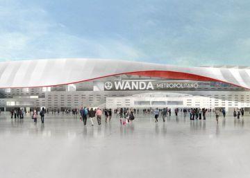 Wanda Metropolitano, el nombre del nuevo estadio del Atlético