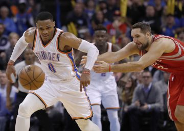 Westbrook iguala una de las gestas de Michael Jordan