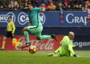 Osasuna - Barça: Messi culmina l'obra dels laterals