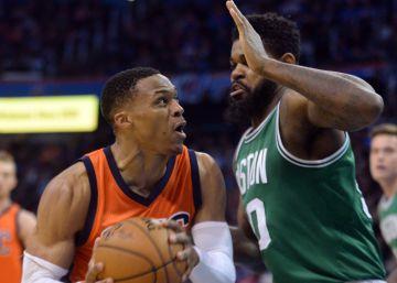 Westbrook pone el mejor final a su racha