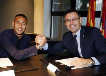 La Audiencia condena al Barcelona por el 'caso Neymar' tras llegar a un acuerdo