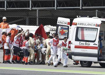 El circuito de Barcelona modificará el trazado a raíz del accidente de Salom