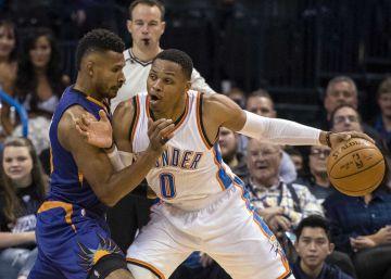 Westbrook se sale: 26 puntos, 11 rebotes y 22 asistencias