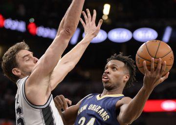 Los Spurs homenajean a Duncan con un paseo ante los Pelicans