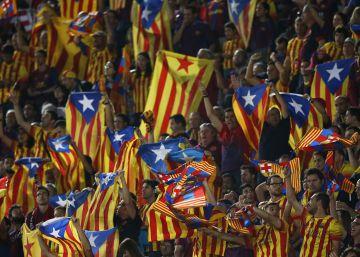 El Barça y la UEFA pactan por el litigio de las esteladas