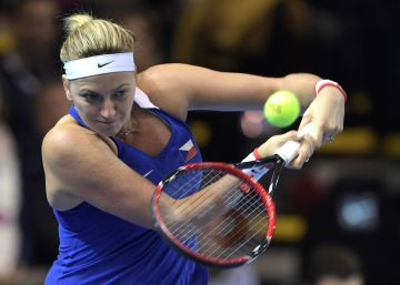 Kvitova, fuera de las pistas por seis meses, tras ser operada de la mano