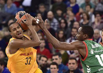 La inercia le da la victoria al Baskonia frente al Barcelona