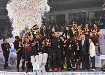 El Milan gana la Supercopa de Italia