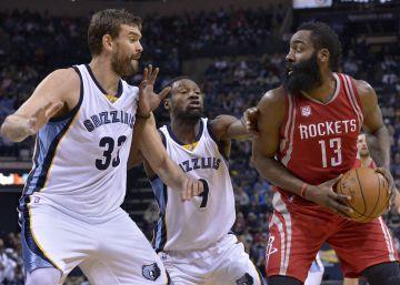 Marc Gasol y los Grizzlies desactivan a los Rockets