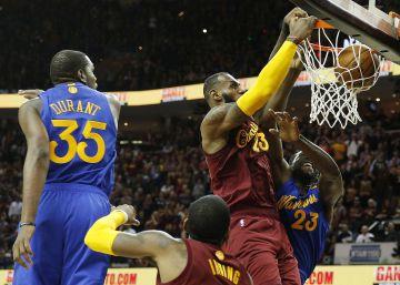 La NBA reconoce dos errores arbitrales decisivos en el Cavaliers-Warriors