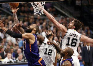 Pau Gasol y los Spurs se recrean ante los Suns