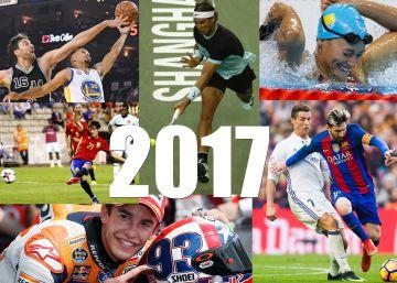 La agenda deportiva de 2017