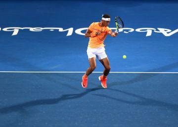 Nadal resiste a Raonic y se mete en la final de Abu Dabi