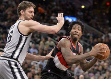 Los Spurs y Pau Gasol barren a los Blazers