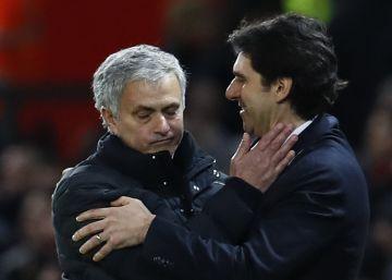 El United gana al Middlesbrough en el reencuentro de Mourinho y Karanka