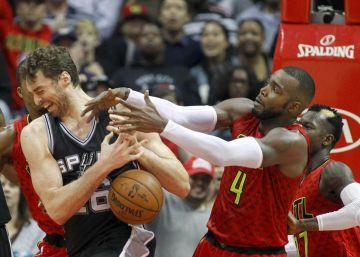 Falla Leonard y Hardaway abate a los Spurs