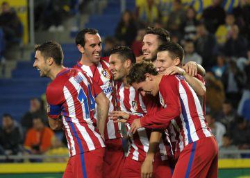 El Atlético se impone a Las Palmas por intensidad
