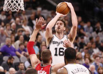 Los Spurs frenan a Toronto