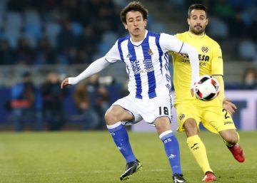 La Real Sociedad cobra ventaja ante el Villarreal