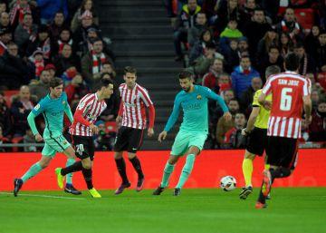 El Athletic derrota al Barcelona por la mínima