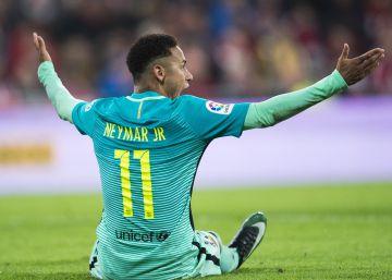Neymar, tras la estela de Neymar
