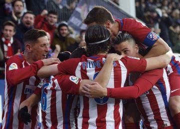El Atlético se aferra a las viejas ideas y atrapa tres puntos en Ipurua
