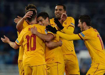 El Sevilla congela a la Real Sociedad