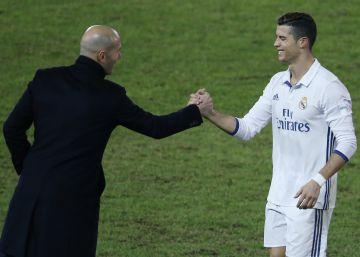 El desafío de Zidane y Cristiano
