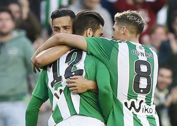 El eterno gol de Rubén Castro da la victoria al Betis ante el Leganés