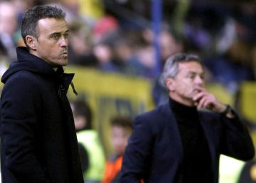 El Barça remata però no marca