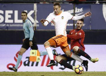 Osasuna y Valencia empatan en un duelo entretenido