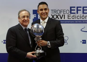 Keylor Navas, mejor jugador iberoamericano