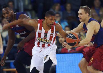 El Olympiacos deja en estado crítico al Barça