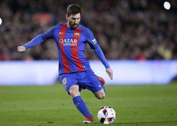 Messi la pone donde quiere
