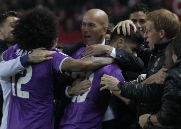 El Real Madrid resiste a un gran Sevilla