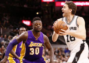 Pau Gasol y los Spurs hacen añicos a los Lakers