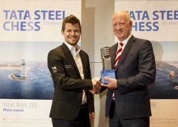 Carlsen busca su 6º triunfo en el Tata Steel