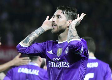 El Sevilla pide a la Liga que se denuncien los gestos de Sergio Ramos