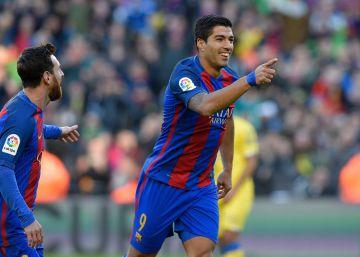 El Barça signa una tarda rodona contra el Las Palmas