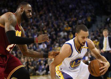 Los Warriors se reivindican con una paliza a los Cavaliers