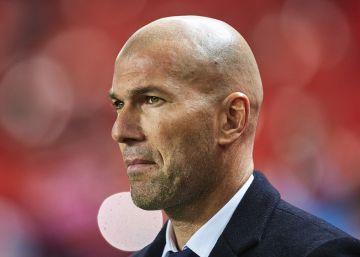 """Zidane: """"La derrota es un poco fuerte"""""""