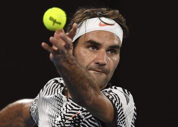 Federer, un 'tapado' con 17 grandes